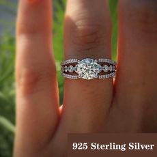highqualitydiamondjewelry, Sterling, Fashion, wedding ring