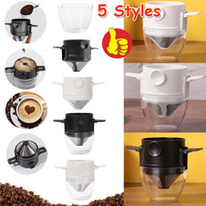 Steel, Coffee, Stainless Steel, coffeefunnel