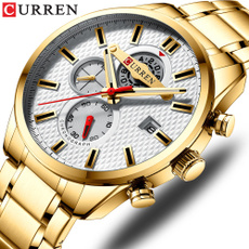 simplewatch, Chronograph, Fashion, Stainless Steel