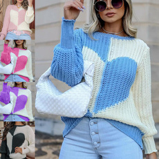 Women Sweater, Love, Winter, Sleeve