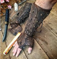 medievalleatehr, Cosplay, Medieval, Armor