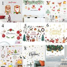 PVC wall stickers, Decor, Christmas, backgroundwallsticker