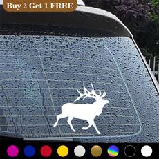 elk, Hunting, Car Sticker, Cars