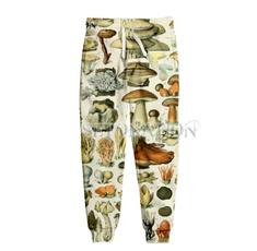 casualsportspant, 3dprintpant, Fashion, Mushroom