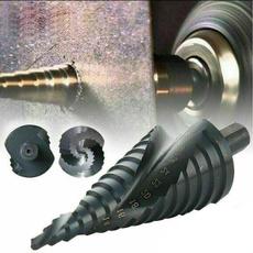 stepdrill, Steel, holecutter, hssstepdrillbit