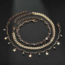 18k gold, ankletsforwomen, Jewelry, Chain