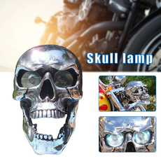 motorcycleaccessorie, motorcyclelight, led, skull