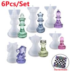 chessmold, Chess, King, Silicone