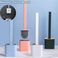 Bathroom, toiletcleaningbrush, Silicone, toiletbrush