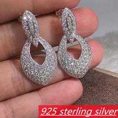 Sterling, Fashion, Sterling Silver Earrings, wedding earrings
