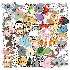 Car Sticker, cartoonanimalsticker, cute, Stickers