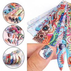 nail decals, art, Beauty, Colorful