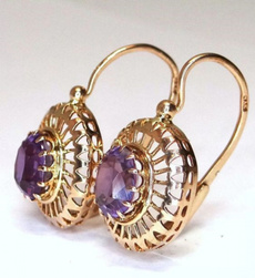 Engagement, vintage earrings, Classics, Elegant