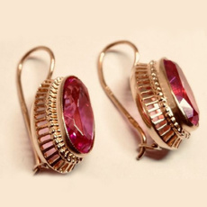 DIAMOND, vintage earrings, wedding earrings, Blood