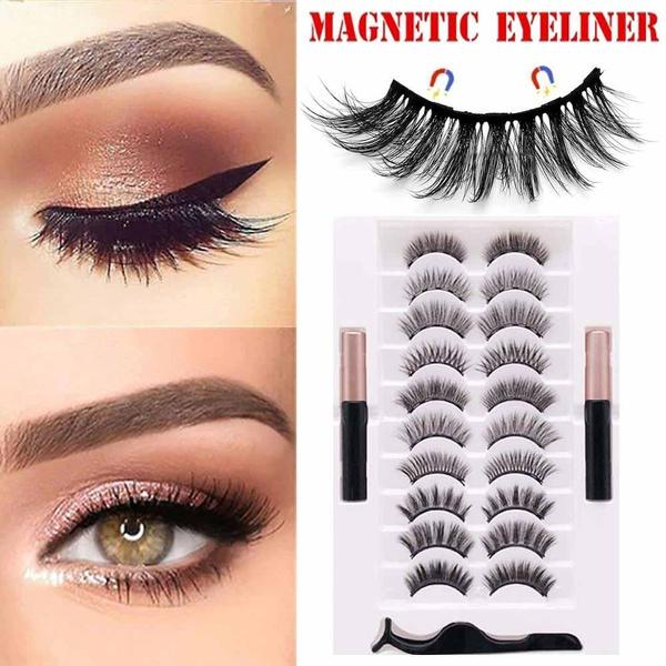 Eyelashes, False Eyelashes, liquideyeliner, Beauty