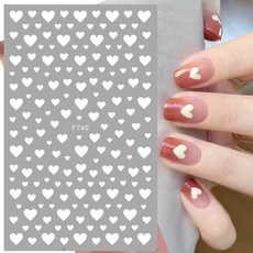 Adhesives, nail stickers, Love, Beauty