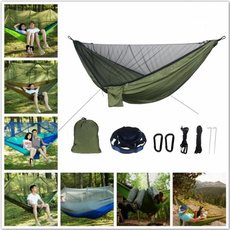 doublehammock, camping, hangingbed, Beds