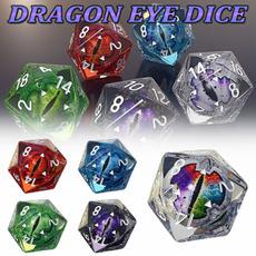 dragoneyedice, rpgdice, eye, Dice