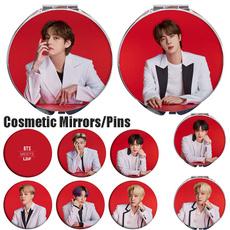 Makeup Mirrors, K-Pop, Brooch Pin, Health & Beauty