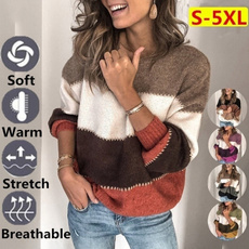 knitted, Plus Size, Winter, Sleeve