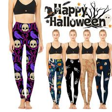 Leggings, trousers, Yoga, halloweengift