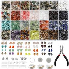 beadsforjewelrymaking, blueeyenecklace, crystalsandhealingstone, Jewelry
