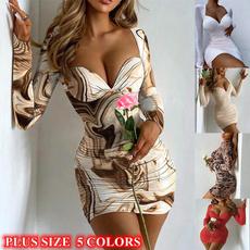 tunicdresse, dressesforwomen, Print Dresses, Long Sleeve