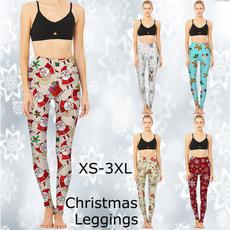 Leggings, trousers, Yoga, Christmas