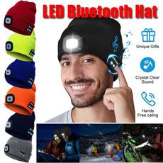 sports cap, knittedcap, led, outdoorlightinghat