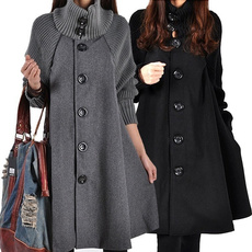 thickencoat, Bat, Plus Size, Winter