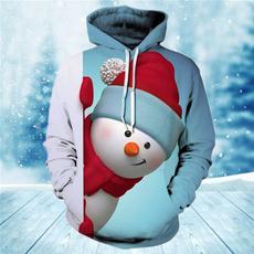 snowman, Couple Hoodies, hooded, pullover hoodie