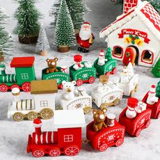 christmastabledecoration, woodentrain, Christmas, christmaspendant
