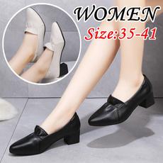 loafersforwomen, wedge, Plus Size, thickheel