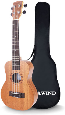 Mini, ukulele, Hawaiian, 21inchukulele