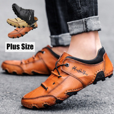 leather shoes, casual leather shoes, leather, flatheelleathershoe
