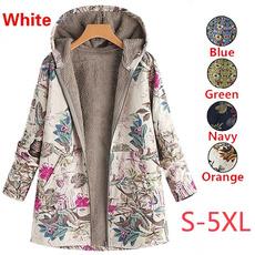 Plus Size, Long Sleeve, fluffy, Women's Fashion