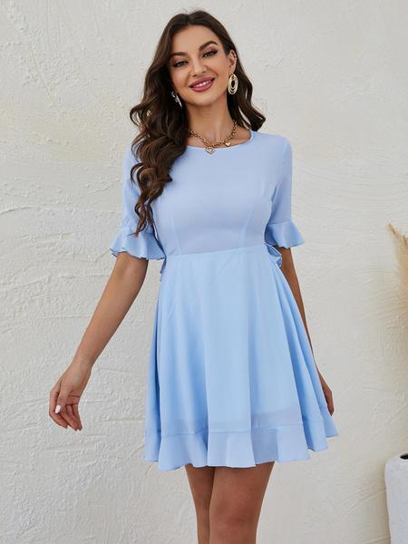 Women's Fashion, ruffle, Dress