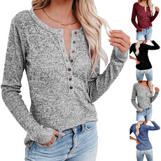 Plus Size, Winter, Casual, Long Sleeve