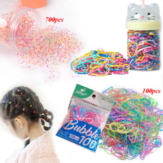 Rope, hairstyle, Elastic, Colorful