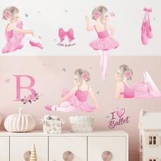 dancinggirlswallsticker, Decor, lovely, Ballet