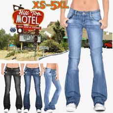 Plus Size, high waist, pants, bluepant