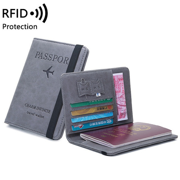 leather wallet, unisex, Travel, Credit Card Holder