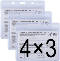 cardprotector, vaccinationcard, Zip, Waterproof