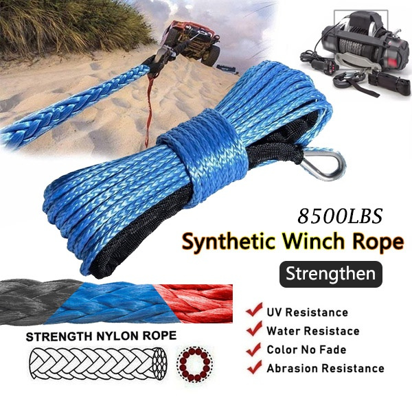 Rope, atvampaccessorie, syntheticwinchrope, Jeep