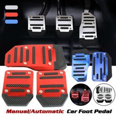 non-slip, clutchpedal, brakepedal, accelerator