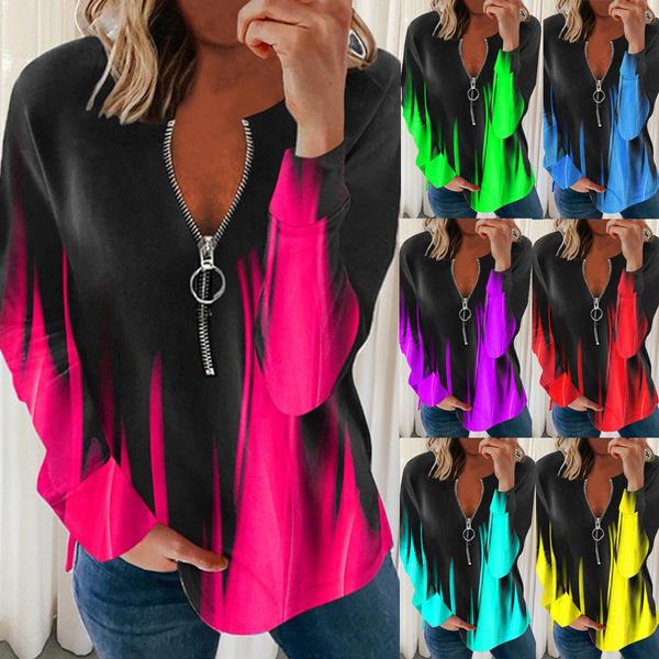 blouse, Plus Size, Floral print, Sleeve