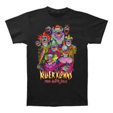 menfashionshirt, theklown, Cotton T Shirt, killerklownsfromouterspace