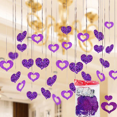 Plastic, Heart, hangingdecor, Home Decor