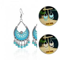 vintagehangingearring, DIAMOND, Dangle Earring, Jewelry