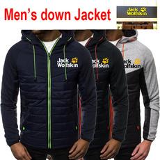 hooded, menscardiganjacket, Fashion, zipperjacket